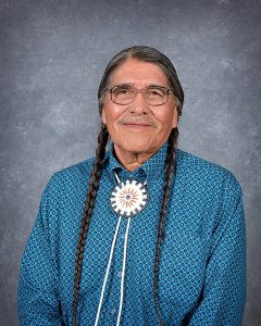 Nathan Small, COLT Treasurer and Chairman of the Shoshone-Bannock Tribes