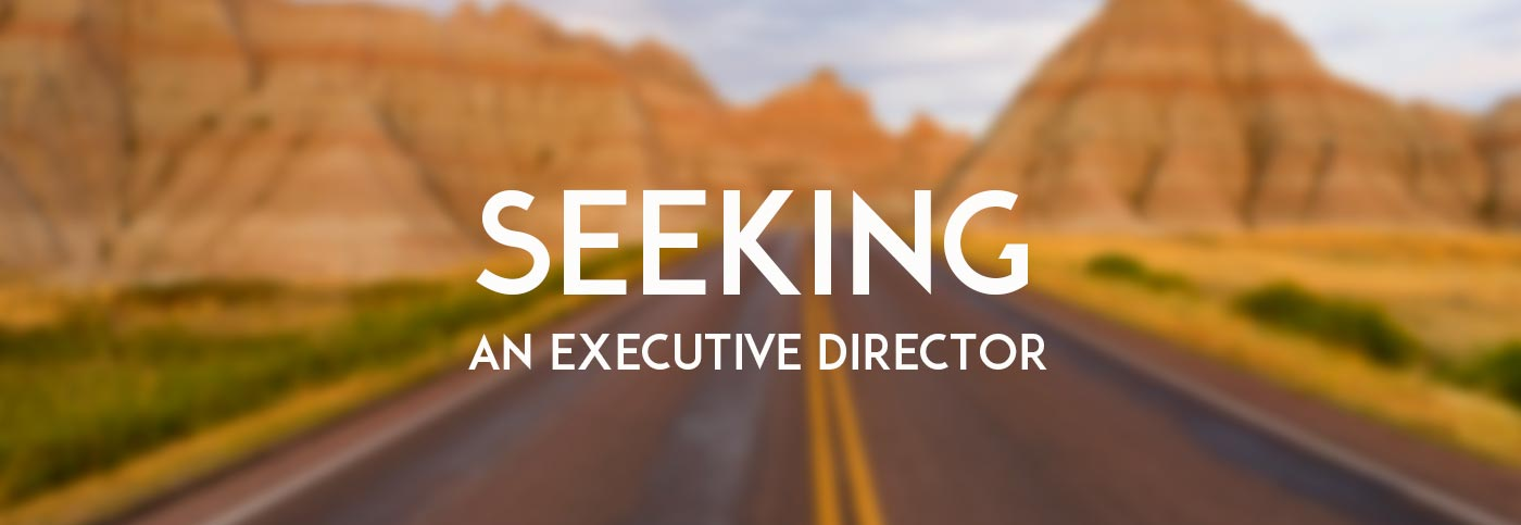 We are seeking an Executive Director